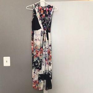Pre loved 🥰 ASOS tea length maternity dress US4